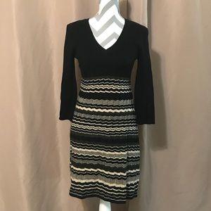 Black & Tan Nine West sweater dress medium